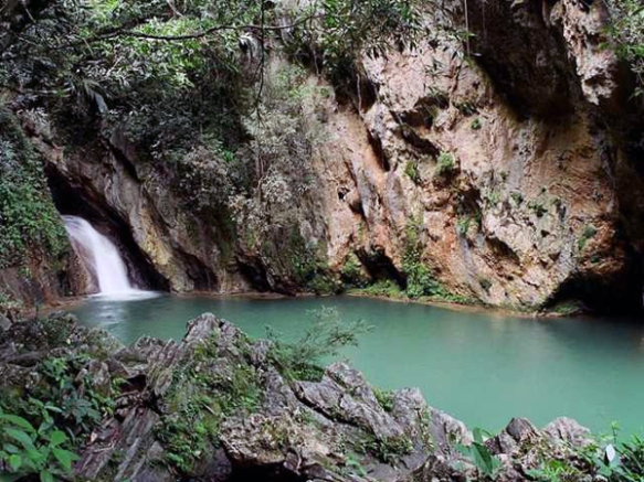 Caburni Falls swimming hole