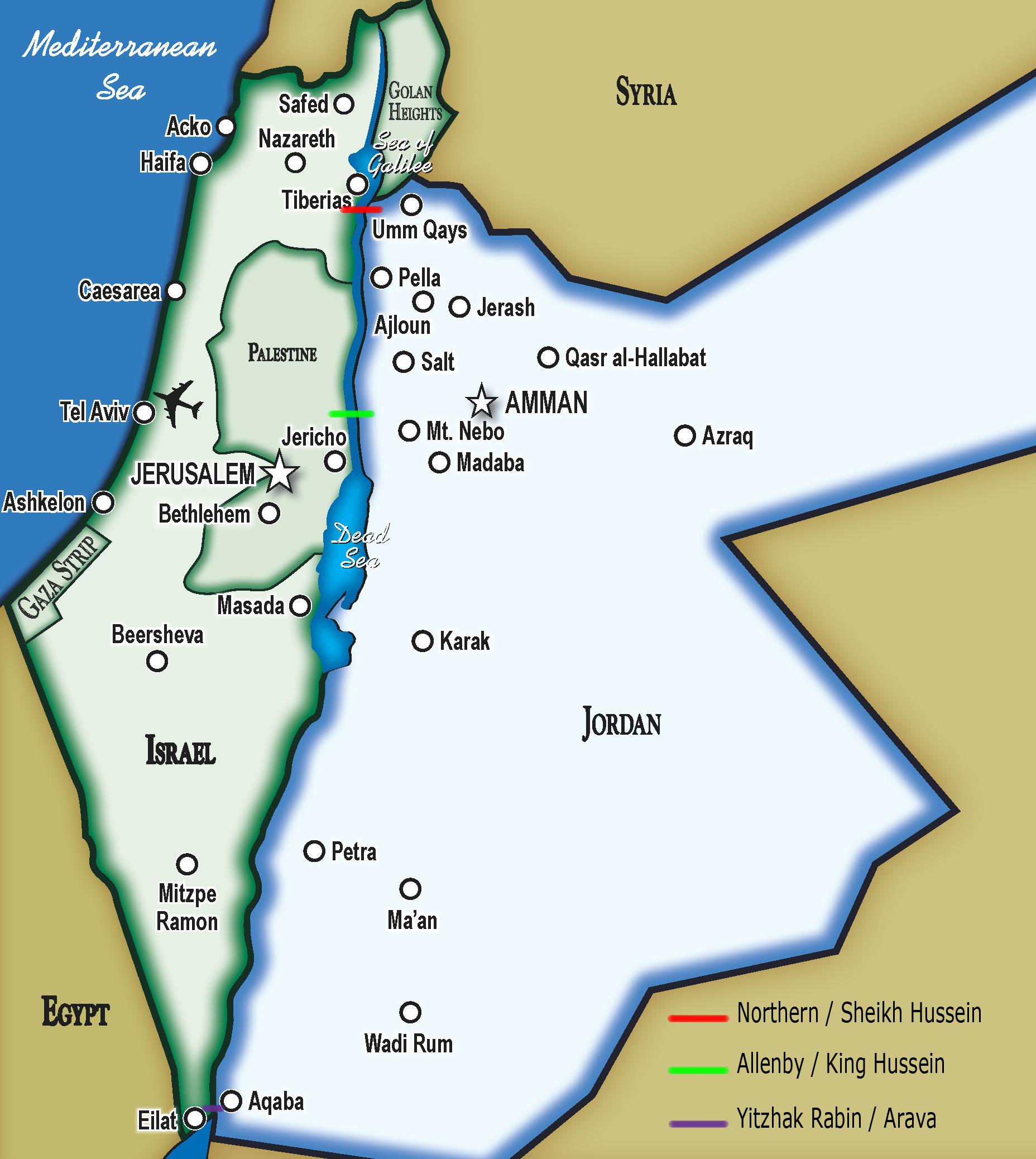 Jordan Israel Tour