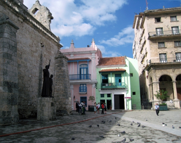 Plaza de San Francisco de Asis