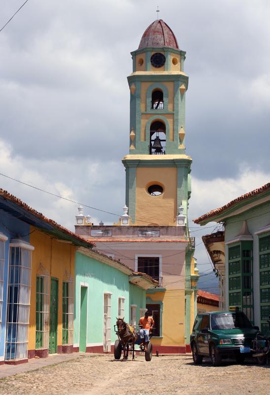 Convento de San Francisco de Assis tower