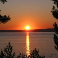 Sunset from Tusan Hotel, Canakkale, Turkey