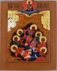 Seven Sleepers of Ephesus Icon