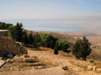 the view from Mt. Nebo, Jordan