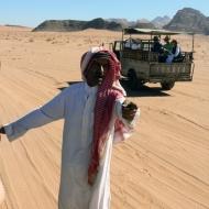 Bedouin driver in Wadi Rum, Jordan