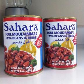 canned ful medames (aka foul moudammas)