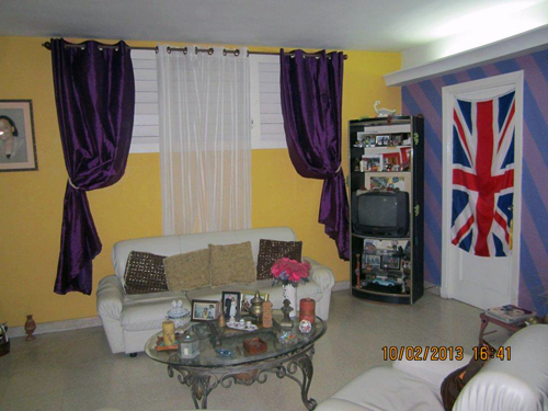 Tania's house in Havana.