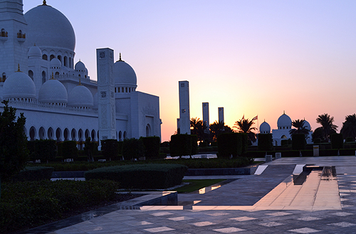 Grand Mosque, Abu Dhabi, United Arab Emirates