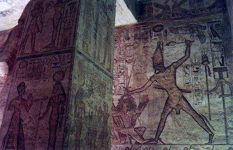 Grand Temple interior, Abu Simbel, Egypt