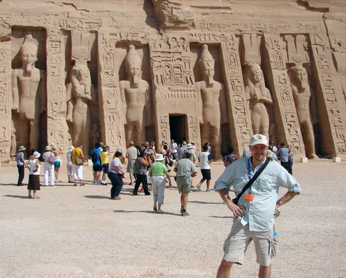 Small Temple, Abu Simbel, Egypt,