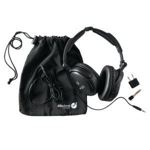 sound-cancelling headphones