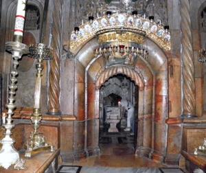 Holy Sepulchre, Jerusalem, Israel
