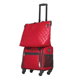 carry-on bag and matching tote