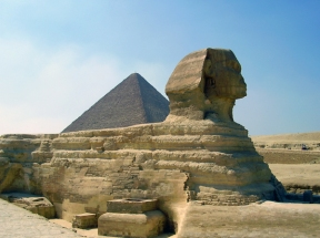 Giza Spinx, Egypt