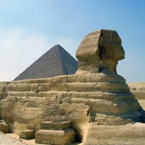 Giza Spinx, Egypt