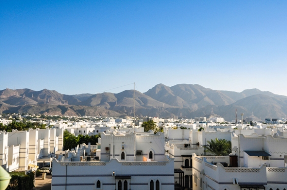 Muscat, Oman, photo by Sue Alstedt