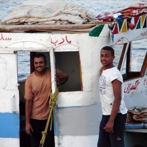 on the Nile, photo by Jason Hedrick