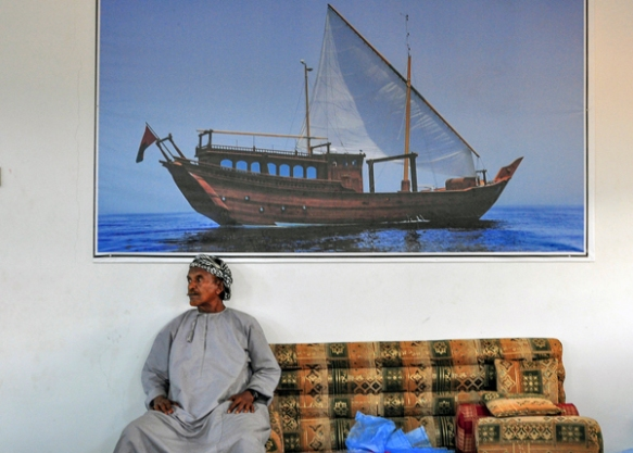 somewhere in Oman, photo by Sue Alstedt
