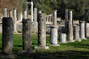 Palestra, Olympia, Greece