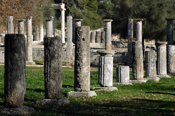 Palestra, Olympia, Greece