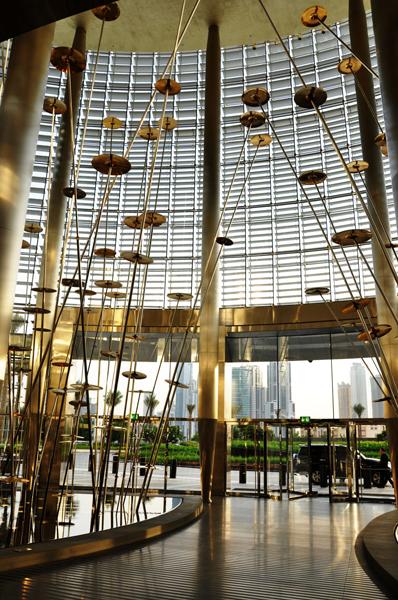 residential lobby, Burj Khalifa, Dubai, UAE