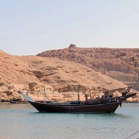 harbor, Sur, Oman, photo by Sallie Volotzky