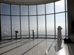 the 124th floor observation deck, Burj Khalifa, Dubai, UAE