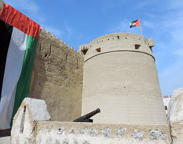 Al Fahidi Fort, Dubai, UAE, photo by Sallie Volotzky