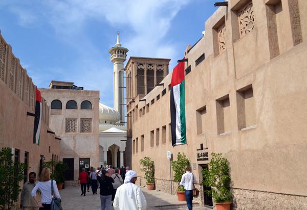 Bastakiya, Dubai, UAE, photo by Rich Davis