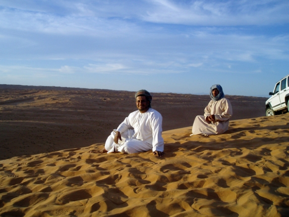 Wahiba Sands, photo courtesy of Elite Tourism, Oman
