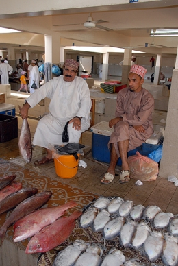 fish souk, photo courtesy of Elite Tourism, Oman