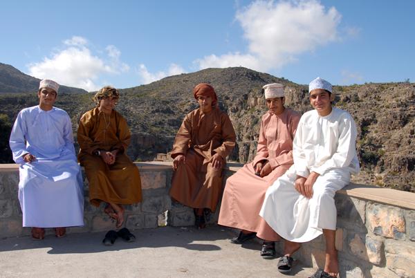 Omani boys , Nizwa Souk, photo courtesy of Elite Tourism, Oman