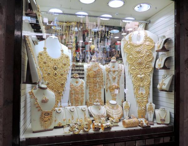 Gold Souk, Dubai, UAE, photo by Sallie Volotzky