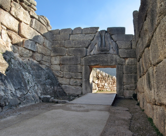 Lion's Gate, Mycenae, Greece