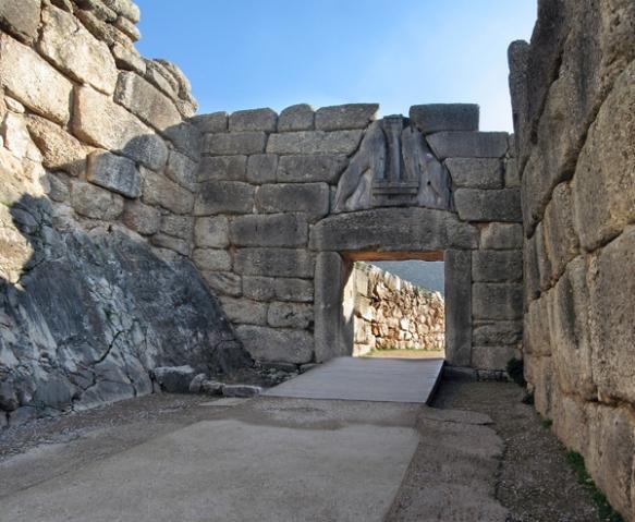 Lion's Gate, Mycenae, Greece