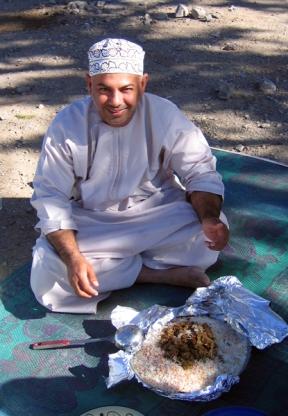 lunch break, photo courtesy of Elite Tourism, Oman