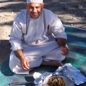 lunch break, photo courtesy of Elite Tourism, Oman