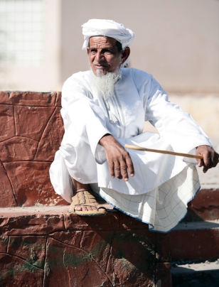 Omani man, photo courtesy of Elite Tourism, Oman