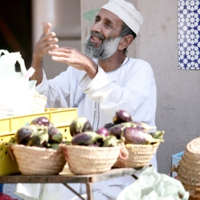 Vendor, Nizwa, Oman, photo courtesy of Elite Tourism, Oman