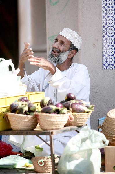 Vendor, Nizwa, Oman, photo courtesy of Elite Tourism, Oman