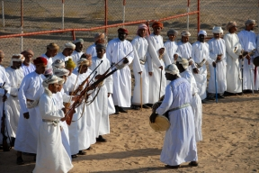 Razfah ceremony, Wahiba Sands, Oman, photo courtesy of Elite Tourism, Oman