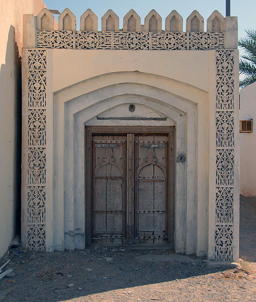 traditional door, Oman, photo courtesy of Elite Tourism