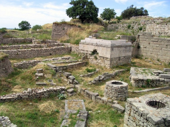 ruins at Troy, Turkey