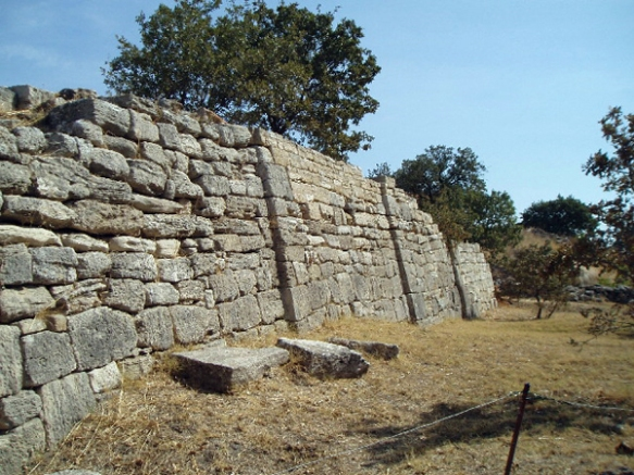 ruins at Troy, Turkey