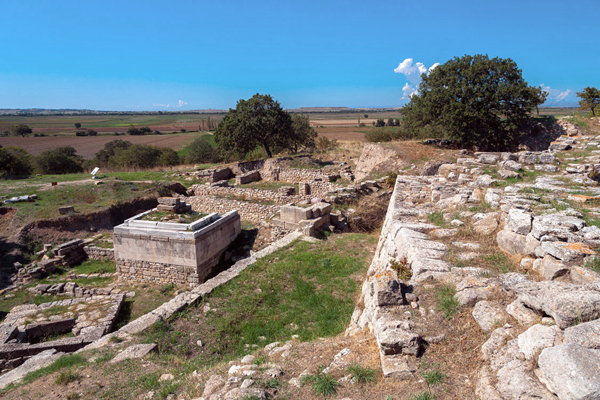 archaeological site of troy Hisarlık: hisarlık, archaeological mound lying on the küçük menderes river near the mouth of the dardanelles a short distance south of it, was the site of troy.