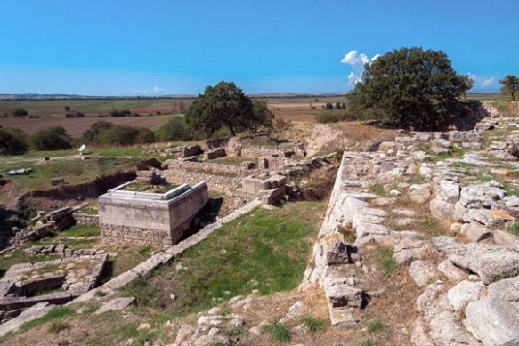 archaeological site of Troy, Turkey