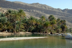 wadi, Oman, photo courtesy of Elite Tourism