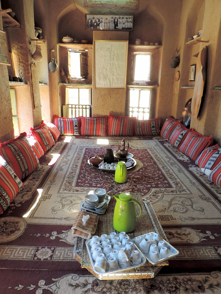Bait Al Safah, Al Hamra, Oman, photo by Sallie Volotzky