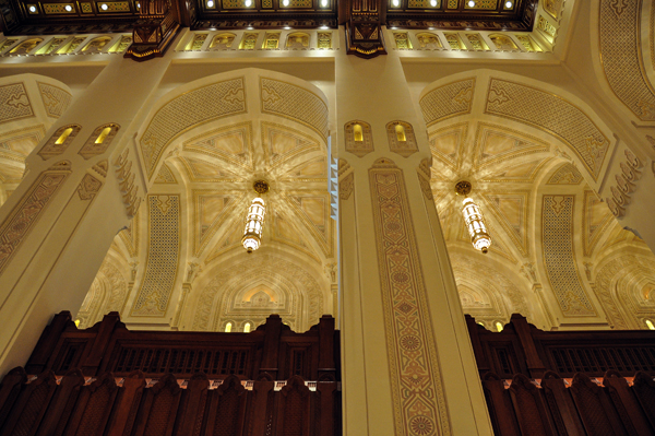 Royal Opera House of Muscat, Oman, photo by Sue Alstedt
