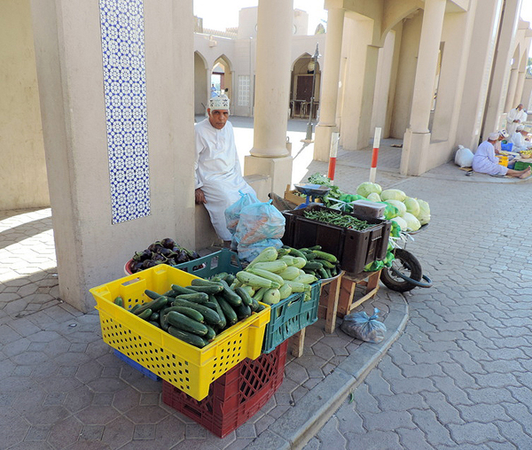 Nizwa Souk, Nizwa, Oman, photo by Sallie Volotzky