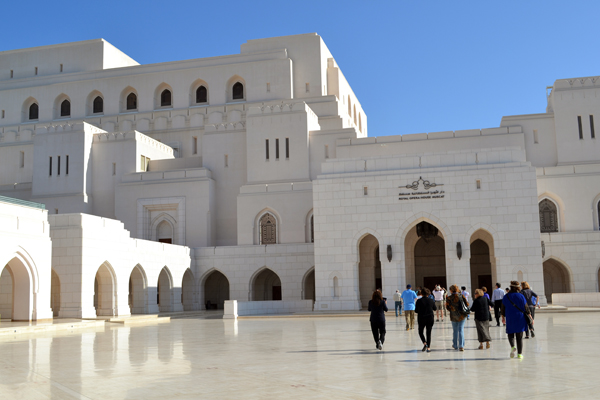 Royal Opera House of Muscat, Oman, photo by Rich Davis